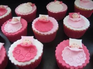 Cupcakes slapende kindjes