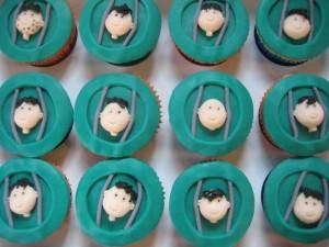 Gevangen cupcakes