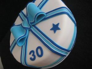 Daan 30 jaar - Tante Plomm - verjaardagstaart