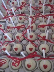 Tante Plomm cakepops bruiloft Irma en Marnix