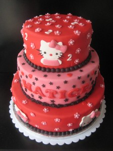 Tante Plomm Stapeltaart Hello Kitty