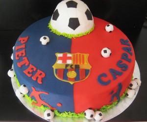 Tante Plomm voetbal Barcelona